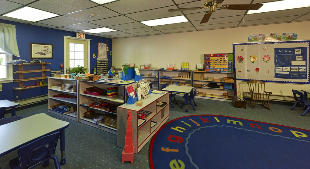 Nursery Pre-K Blue Classroom
