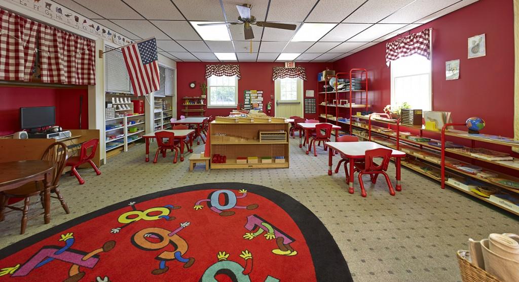 Nursery Pre-K Red Classroom