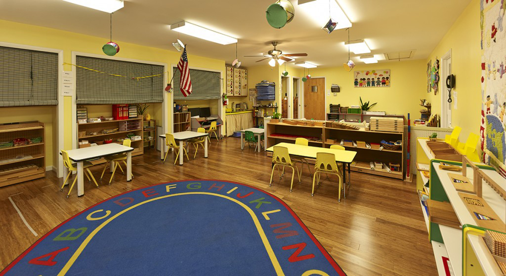Nursery Pre-K Yellow Classroom